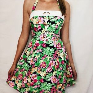 Lilly Pulitzer Toni Halter Dress Size 2